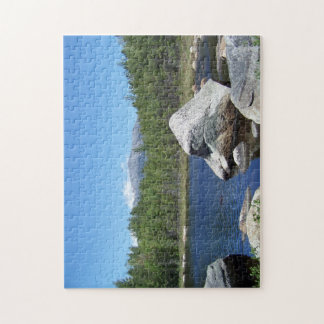 Katahdin on the rocks jigsaw puzzle