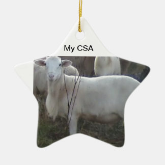 Katahin Hair Sheep Ceramic Ornament