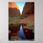 Katajutta Canyon, Northern Territory, Australia Posters