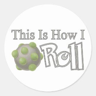 Katamari Roll Classic Round Sticker