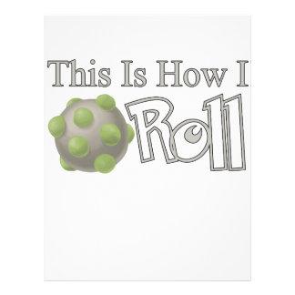 Katamari Roll Custom Flyer