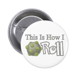 Katamari Roll Pinback Button