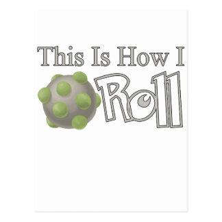 Katamari Roll Postcard
