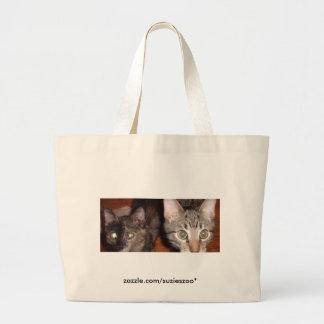 Katana n Domino Eyes Large Tote Bag