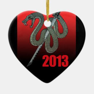Katana snake 2013 A Ceramic Ornament