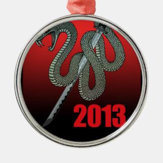 Katana snake 2013 A Metal Ornament