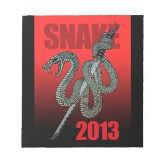 Katana snake 2013 A Notepad