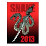 Katana snake 2013 A Postcard