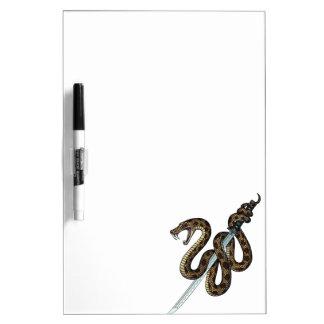 Katana Snake 2 Dry-Erase Whiteboards