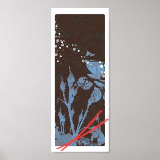 Katana Wall Scroll Print