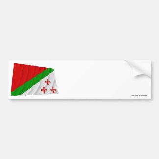 Katanga Waving Flag 1960-1963 Bumper Stickers