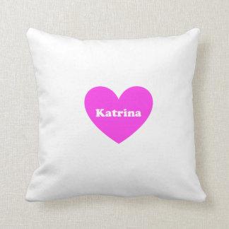 Katarina Throw Pillow