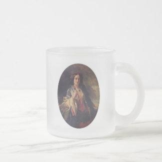 Katarzyna Branicka 10 Oz Frosted Glass Coffee Mug