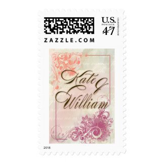 Kate and William Custom Postage