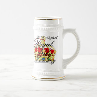 Kate and William Royal Baby on the way Beer Stein