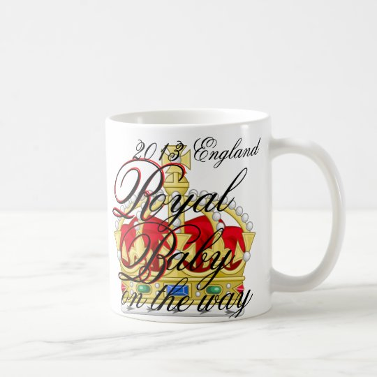 Kate and William Royal Baby on the way Coffee Mug