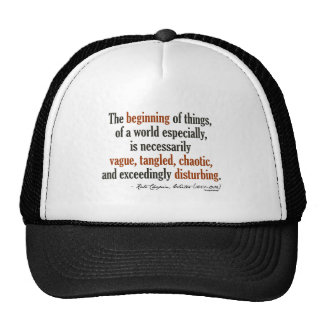 Kate Chopin Quote Mesh Hat