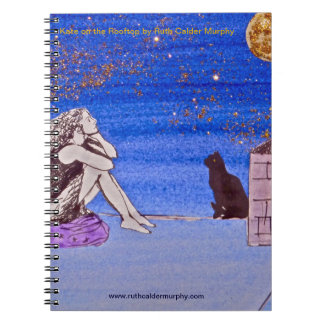 Kate en el tejado - cuaderno