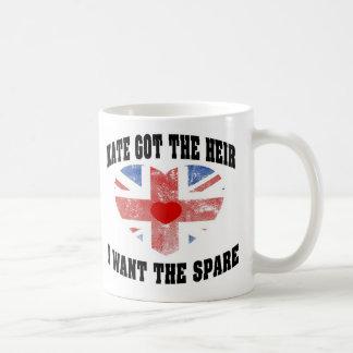 Kate Got The Heir I Want The Spare Coffee Mug