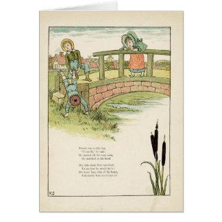 Kate Greenaway Childrens Illustration Card