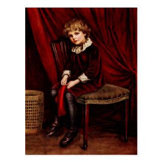 Kate Greenaway El muchacho rojo Postales