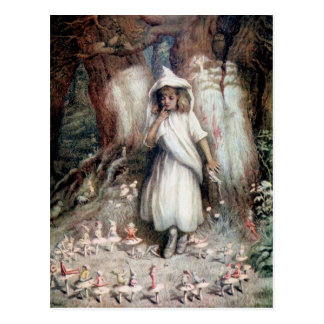 Kate Greenaway: The Elf Ring Postcard