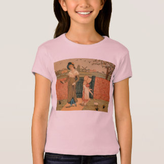 Kate Greenaway, Victorian drawing mother and child T-Shirt