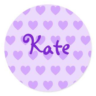 Kate in Purple sticker
