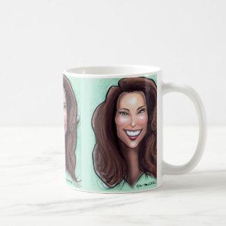 Kate Middleton Caricature Coffee Mug