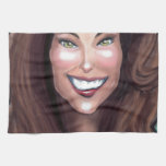 Kate Middleton Caricature Hand Towel