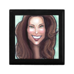 Kate Middleton Caricature Jewelry Boxes
