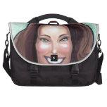 Kate Middleton Caricature Laptop Commuter Bag