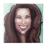 Kate Middleton Caricature Tile