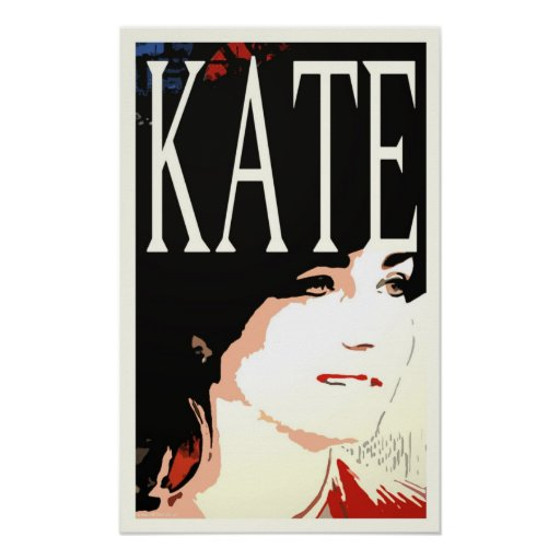 Kate Middleton pop art poster/print