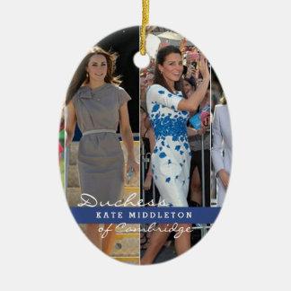 Kate Middleton Prince George Ceramic Ornament