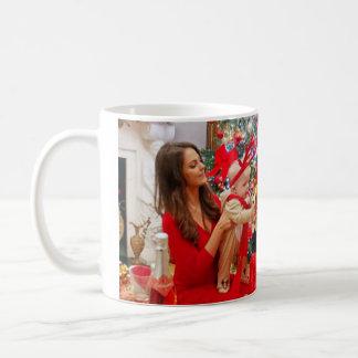 Kate Middleton Prince George Christmas Coffee Mug
