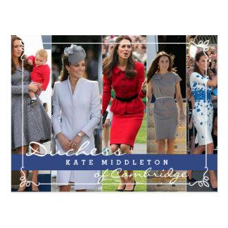 Kate Middleton Prince George Postcard