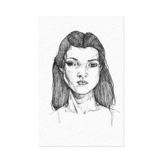 Kate Moss Canvas Print