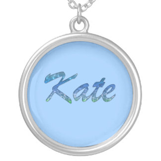 KATE Name-Branded Gift Pendant Necklace
