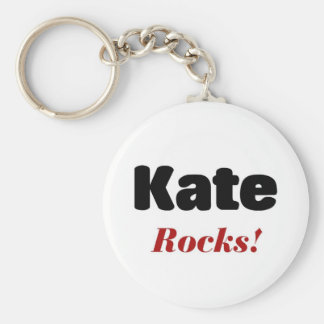 Kate rocks keychain