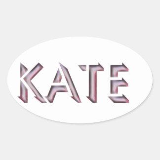 Kate sticker name