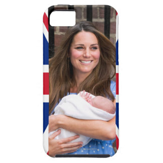 Kate & William with Newborn Son iPhone SE/5/5s Case