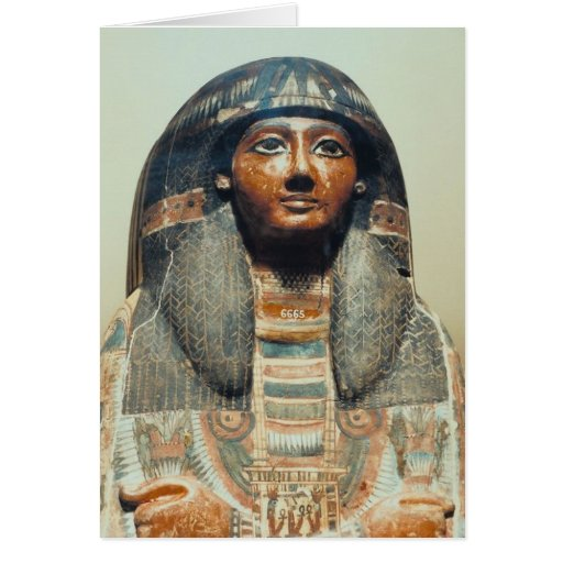 Katebet Mummy Greeting Card