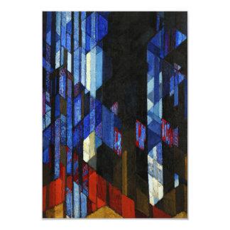 """Katedrála (la catedral) por František Kupka 1913 Invitación 3.5"""" X 5"""""""