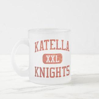 Katella Knights Athletics 10 Oz Frosted Glass Coffee Mug