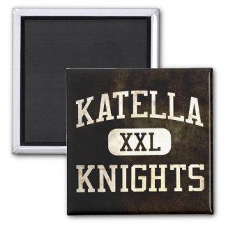 Katella Knights Athletics 2 Inch Square Magnet