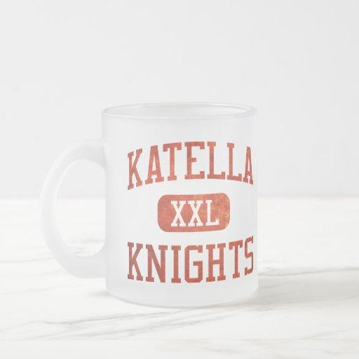 Katella Knights Athletics Frosted Glass Coffee Mug