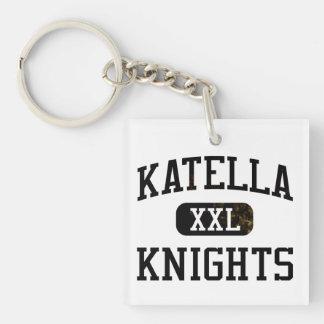 Katella Knights Athletics Single-Sided Square Acrylic Keychain