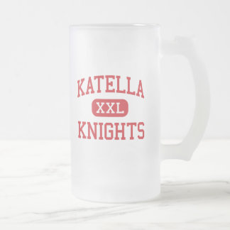 Katella - Knights - High - Anaheim California 16 Oz Frosted Glass Beer Mug