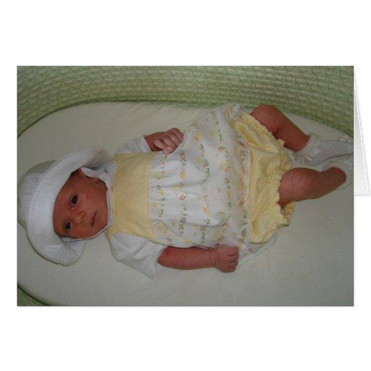 Katelyn Birth Card